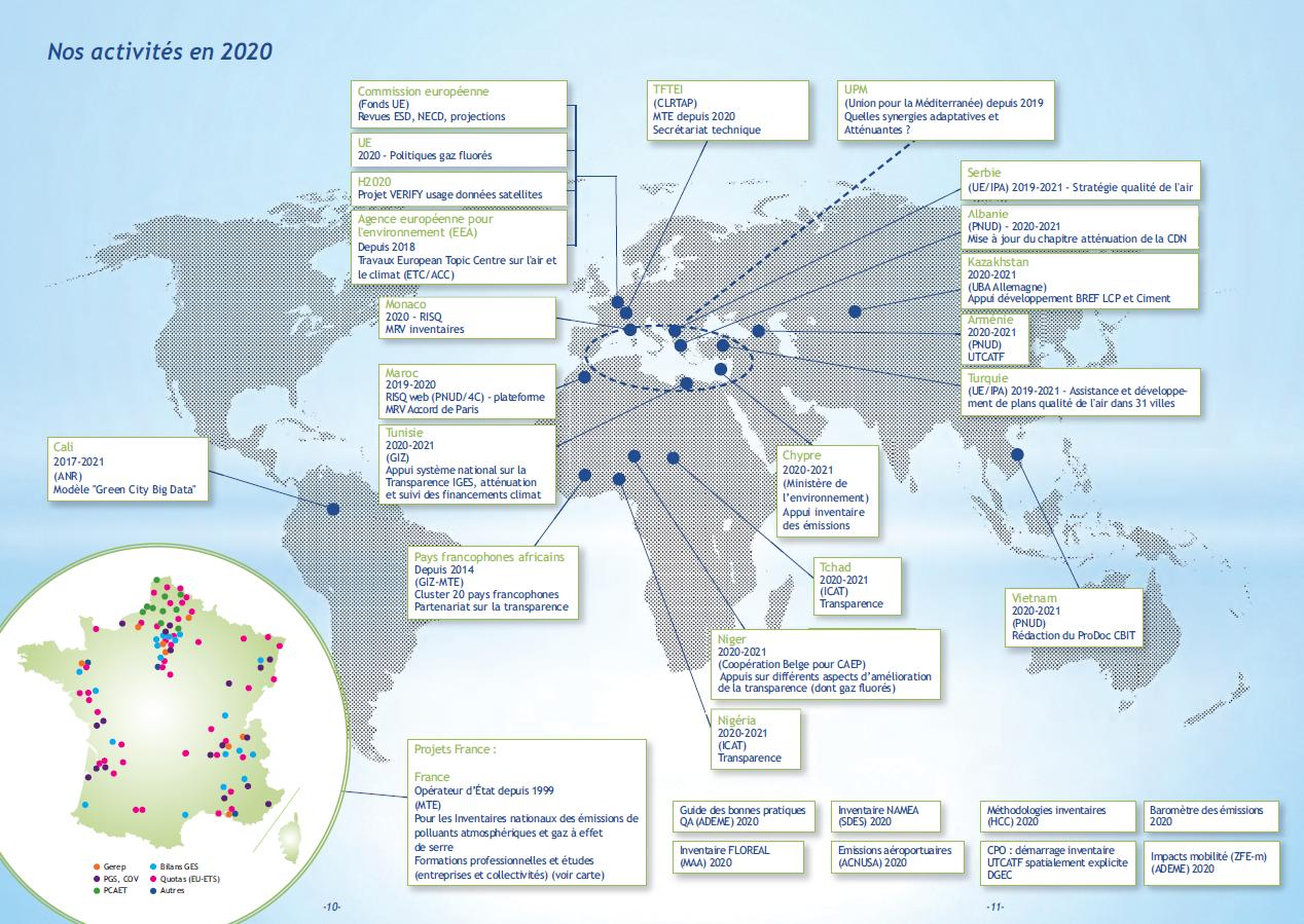 Mappemonde 2020
